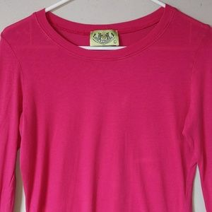 Juicy Couture! Hot pink top